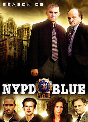 NYPD Blue: Season 08 (DVD, 2015, 5-Disc Set) **BRAND NEW, FACTORY SEALED**