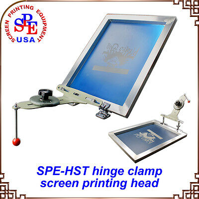 Simple Screen Printing Butterfly Frame Hinge Clamp Press Equipment Machine DIY