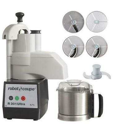 Robot Coupe Food Processor R301 Ultra With 4 Discs 3.7L Commercial Equipment