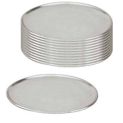 12 x Pizza Tray / Plate / Pan, Aluminium, 150mm / 6 inch, Round, Pizzas