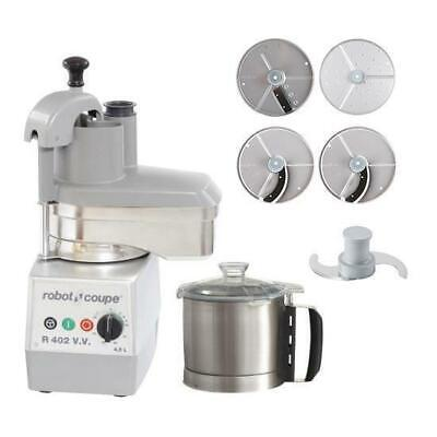 Robot Coupe Food Processor R402VV With 4 Discs 4.5L Commercial Equipment