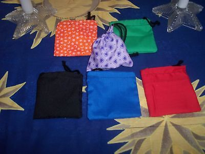 Wicca Magick Supplies---POWER POUCH/CHARM BAG---6pc with Complete Instructions