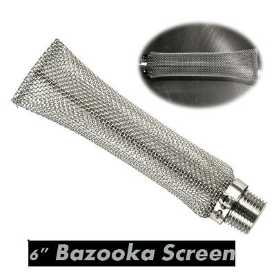"Brand New 6"" Home Brew 15cm Stainless Hop Bazooka Screen mash"