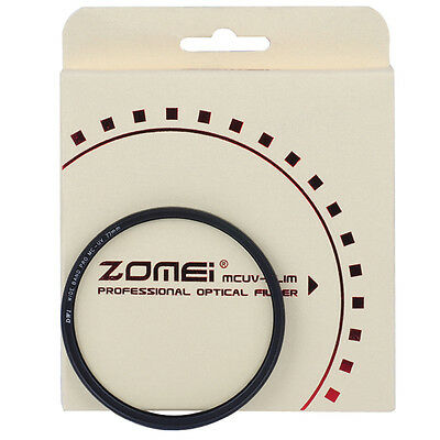 ZOMEI 62/67/72/77/82/86mm Slim Multi Coated UV Filter Lens Protector for DSLR
