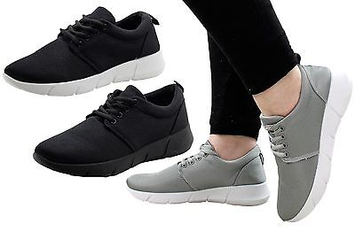 New Ladies Trainers Women Gym Running Sports Mesh Shoes Sneaker Workout Fitness