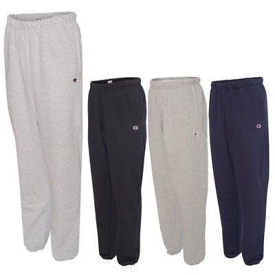 Champion Mens Pants Athletic Work Out Reverse Weave Sweatpants with Pockets