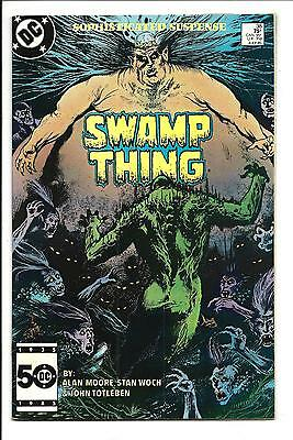 SWAMP THING # 38 (John Constantine app. JULY 1985), VF/NM