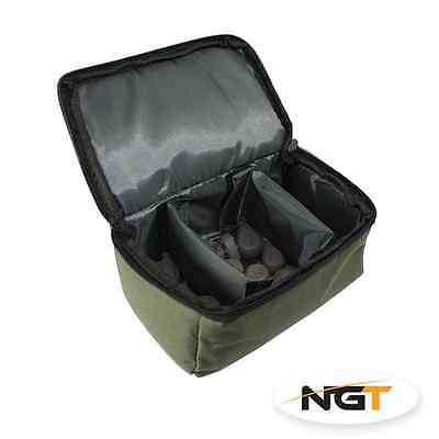 Ngt Carp Fishing Terminal Tackle 3 Way Lead Weights Bag