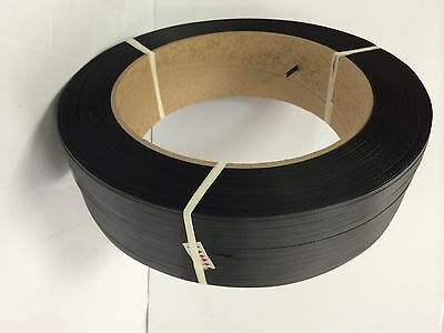 """Poly Strapping 5/8"""" x 0.27 5,400 Ft 16x6 Hand Grade"""