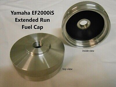 "Yamaha Ef2000Is Inverter Generator Extended Run Fuel Cap **free 1/4"" Elbow**"