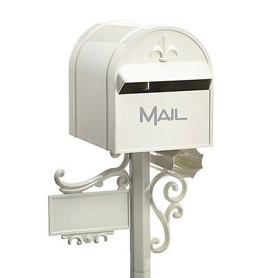 SALE MILKCAN Letterbox LIGHT CREAM Aluminium AUSSIE TOP MOUNT Box Post Mailbox