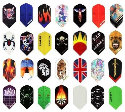 20 New Sets of Slim Dart Flights - Best Selection at Great Prices