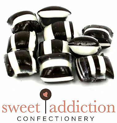 750g Aniseed Humbugs - Bulk Wedding Boiled Lollies Candy Buffet - FREE POSTAGE