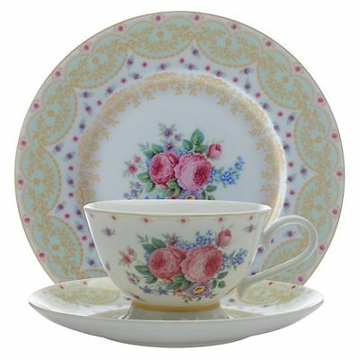 NEW Maxwell & Williams Kensington Palace 3-Piece Tea Set, Mint, 240ml