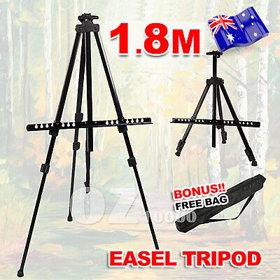 Adjustable Tripod Display Easel Stand Drawing Board Art Artist Sketch Painting