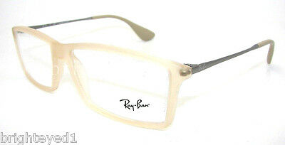 033cfcca44 AUTHENTIC RAY-BAN MATTHEW Eyeglass Frame RX 7021 - 5369  NEW  55mm ...
