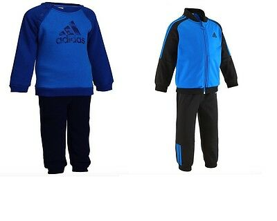 Adidas Baby Kids  Boys Toddler Tracksuit Set Play Gym  Polyester Or Cotton New