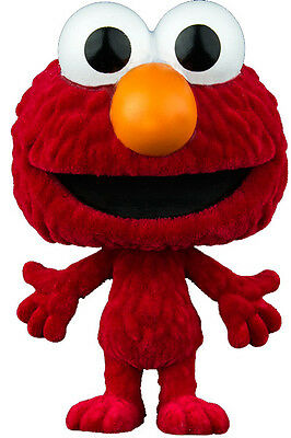 Sesame Street POP! TV Vinyl Figure Elmo Flocked 9 cm FUNKO