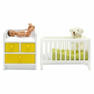 NEW Lundby Stockholm Doll's House Nursery and Baby Set