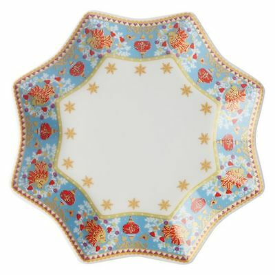 NEW Maxwell & Williams Christmas Turquoise Carnival Platter, 16cm