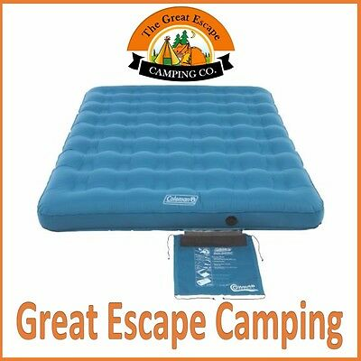 Coleman Durasleep Queen Inflatable Camp Air Bed Mattress Airbed