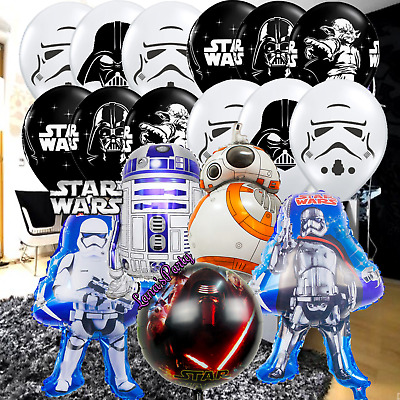 Star Wars Foil and Latex Balloons balloon Birthday Party