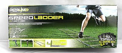 NEW PER4M Speed Ladder 15' Agility Ladder - 10 Drill Cards *Ships Quick*