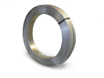 """Stainless Steel Banding, Strapping, Tensioning 3/4"""" x .020"""" x 200' Coil"""