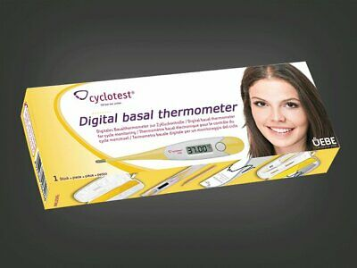 CYCLOTEST Lady Basal Thermometer BBT female cycle Control - Thermometer