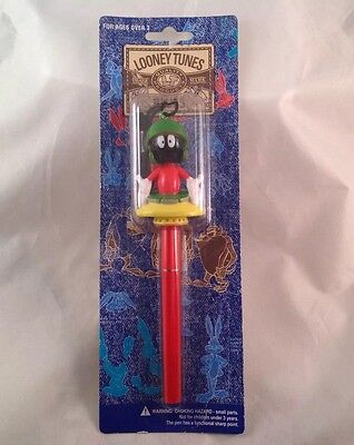 Vintage Looney Tunes Marvin The Martian Pen Still In Package 1996