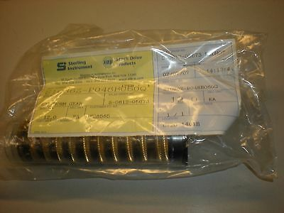 12 NEW Sterling Instrument S1C86Z-P048B060Q - 48P Worm Gear -  ID 0.250""
