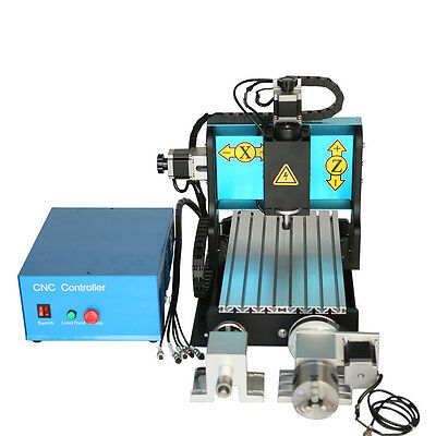 MT8 110V 600W 4 AXIS 3020 CNC Router Engraving Drilling Milling Machine USB Port