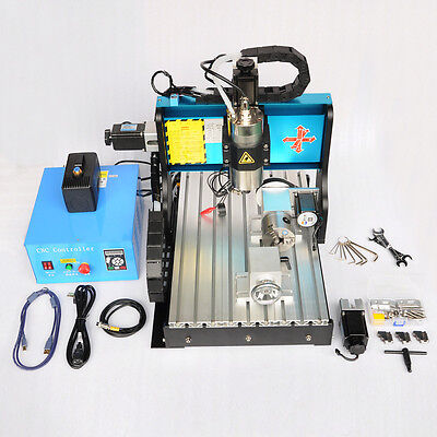 MT8 110V 1500W 3 AXIS CNC3040 Router Engraving Drilling Milling Machine USB Port