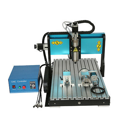 MT8 110V 1500W 3 AXIS CNC6040 Router Engraving Drilling Milling Machine USB Port