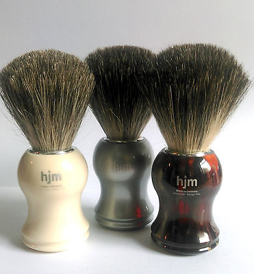 HJM Muhle Shaving Brush Pure Badger Bristle
