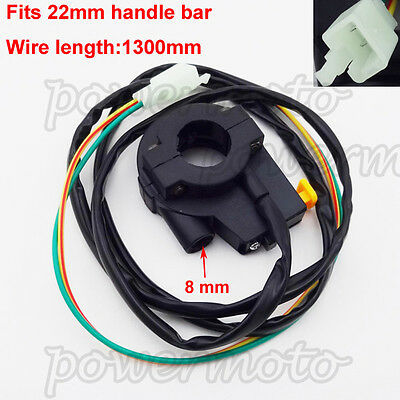 Kill Switch Handle Throttle Housing For Pocket Bike Scooter Goped Gas Motorized