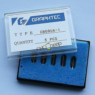 5PCS 45° Blades Fit for Graphtec CB09 Vinyl Cutter Cutting Plotter