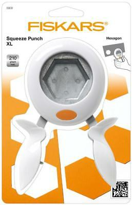 FISKARS hand SQUEEZE PUNCH Extra large  Hexagon 50mm 2 inch 5909