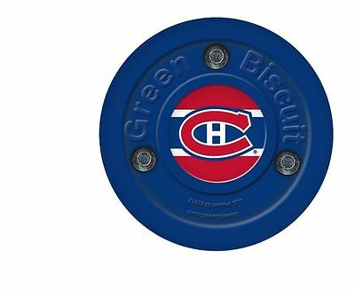 NEW OFF ICE TRAINING GREEN BISCUIT Montreal Canadiens PUCK