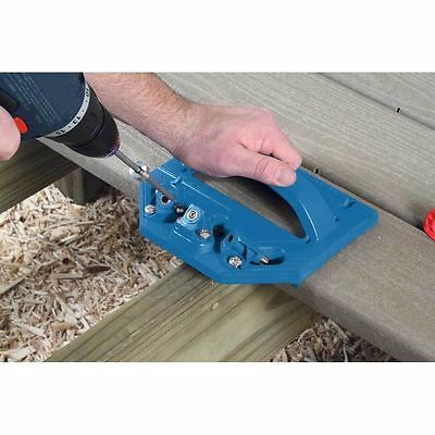 Kreg Deck Jig  System Concealed Decking Screw Installation Guide Aid System Tool