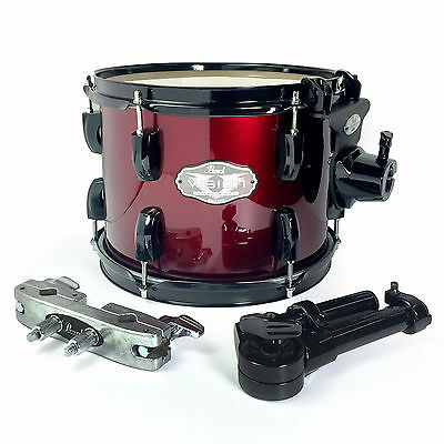 """Pearl Vision VX 10"""" Add On Tom Pack with arm & clamp - Wine Red w/ Black Hardwar"""