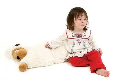 dreamgenii Billy Winky Plush Fleece Bed-Time Buddy Pillow - Sheep Design.