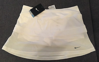 "Nike Victory Power Damen Tennis rock 637533-100  """"""NEU NEU NEU"""""" GR.L"
