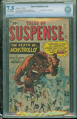 Tales Of Suspense #25 [1962] Certified[7.5] Classic Cover