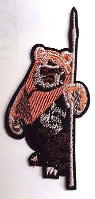 """Star Wars Wicket the Ewok Die Cut 4"""" Embroidered PatchUSA Mailed(SWPA-FC-35)"""