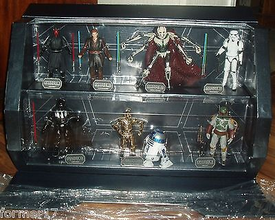 Star Wars Elite Series Die Cast C3P0, R2D2, General Grievous, Boba Fett + 13