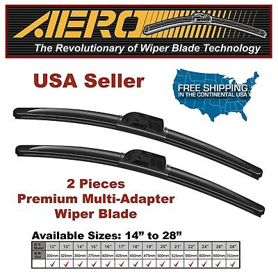 AERO Chevrolet Sonic 2016-2012 Beam Windshield Wiper Blades (Set of 2)