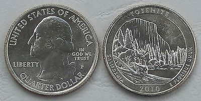 USA Quarter America the Beautiful - Yosemite P 2010 unc.