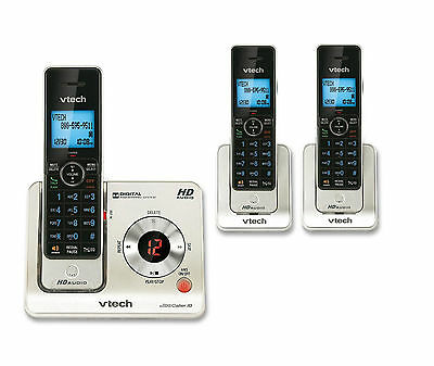 Vtech 3 Handset Cordless Home Phone Answering System with Caller ID/Call Waiting