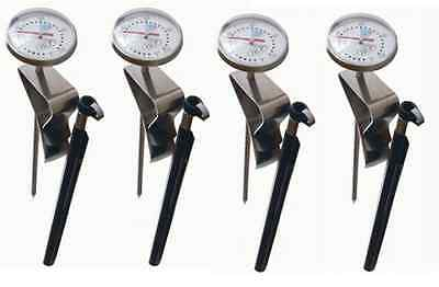 4 x HLP Coffee Dial Thermometers Professional Barista Restaurant Cafe